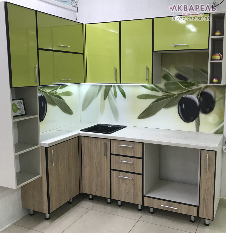 Кромка или профиль в пластиковой кухне фото